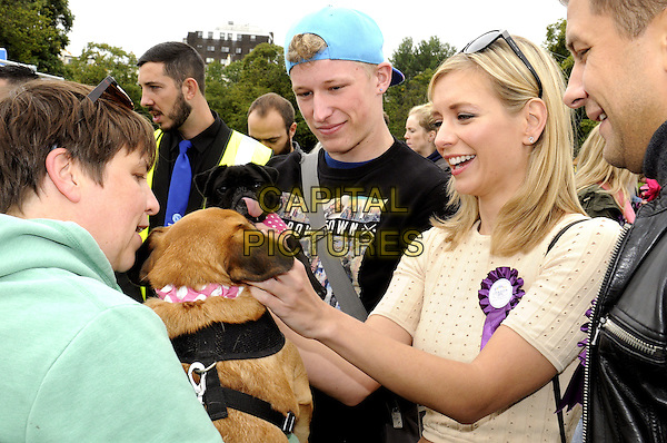 LONDON, ENGLAND - Rachel Riley at Pup Aid 2015 at Primrose Hill, London on September 5th 2015<br /> CAP/PP/BK<br /> &copy;Bob Kent/PP/Capital Pictures