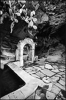 Europe/France/Corse/2B/Haute-Corse/Cap Corse/env  de Centuri : Vieille fontaine