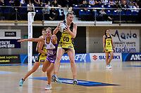 Pulse' Katrina Rore in action during the ANZ Premiership - Pulse v Stars at Te Rauparaha Arena, Porirua, New Zealand on Wednesday 3 April 2019. <br /> Photo by Masanori Udagawa. <br /> www.photowellington.photoshelter.com