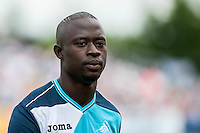 Modou Barrow of Swansea City during the Pre Season friendly match between Swansea City and Rovers played at the Memorial Stadium, Bristol on July 23rd 2016