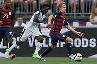 East Hartford, CT - Saturday July 01, 2017: Dax McCarty during an international friendly game between the men's national teams of the United States (USA) and Ghana (GHA) at Pratt & Whitney Stadium.