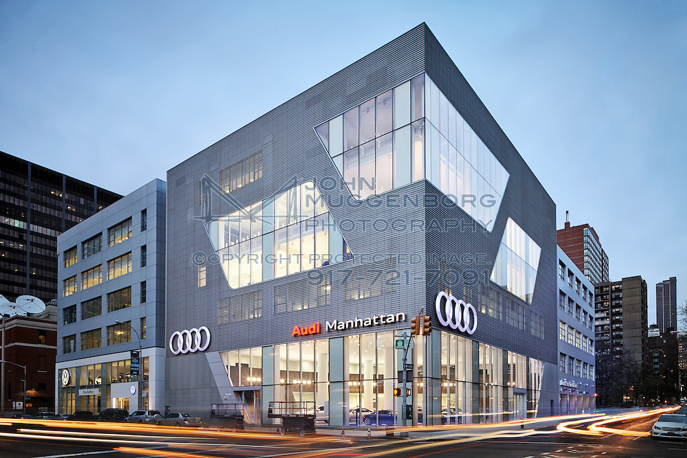 Image Of The Audi Terminal Dealership In New York City New York