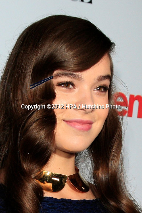 LOS ANGELES - SEP 27:  Hailee Steinfeld at the Teen Vogue's 10th Annual Young Hollywood Party at Private Location on September 27, 2012 in Beverly Hills, CA