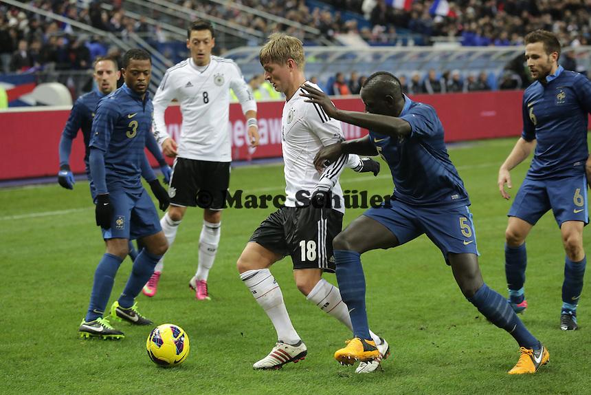Toni Kroos (D) gegen Mamadou Sakho (F)