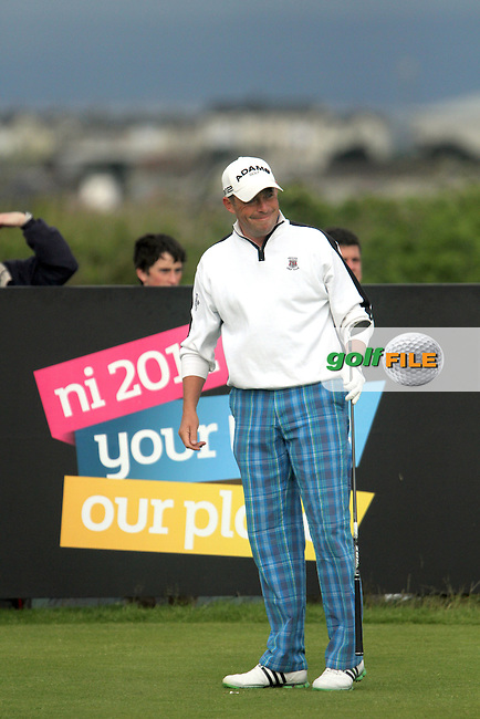 Mark Murphy (IRL) on the 4th on Day 3 of the 2012 Irish Open at Royal Portrush Golf Club, Portrush, Co.Antrim, 30/6/12...(Photo Jenny Matthews/www.golffile.ie)