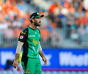 3rd February 2019, Optus Stadium, Perth, Australia; Australian Big Bash Cricket League, Perth Scorchers versus Melbourne Stars; Glenn Maxwell of the Melbourne Stars