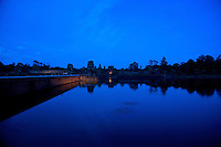 SIEM REAP, ANGKOR WAT at night