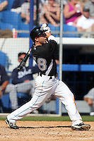 Toronto Blue Jays Jonathan Diaz #68 during a Spring Training game vs the Detroit Tigers at Florida Auto Exchange Stadium in Dunedin, Florida;  February 26, 2011.  Detroit defeated Toronto 4-0.  Photo By Mike Janes/Four Seam Images
