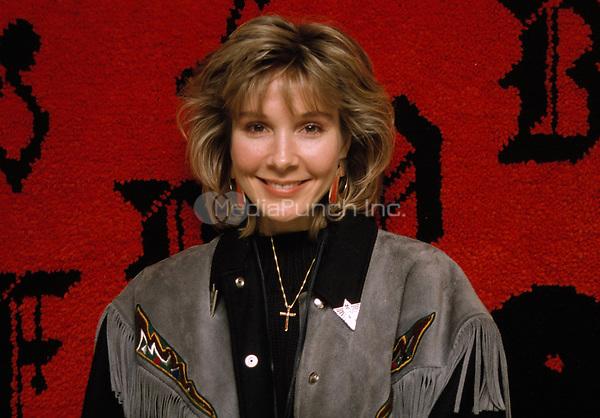Cynthia Rhodes pictured in 1989.<br /> &copy; Scott Weiner /MediaPunch.