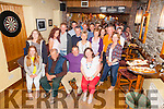 Eugene O'Sullivan from Clahane, Cahersiveen seated second from the right pictured at his surprise 50th birthday with family and friends in Cha Healys Bar in Cahersiveen on Saturday night.