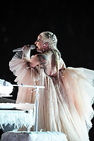 NEW YORK - JANUARY 28:  Lady Gaga appears on the 60th Annual Grammy Awards at Madison Square Garden on January 28, 2018 in New York City. (Photo by Frank Micelotta/PictureGroup)