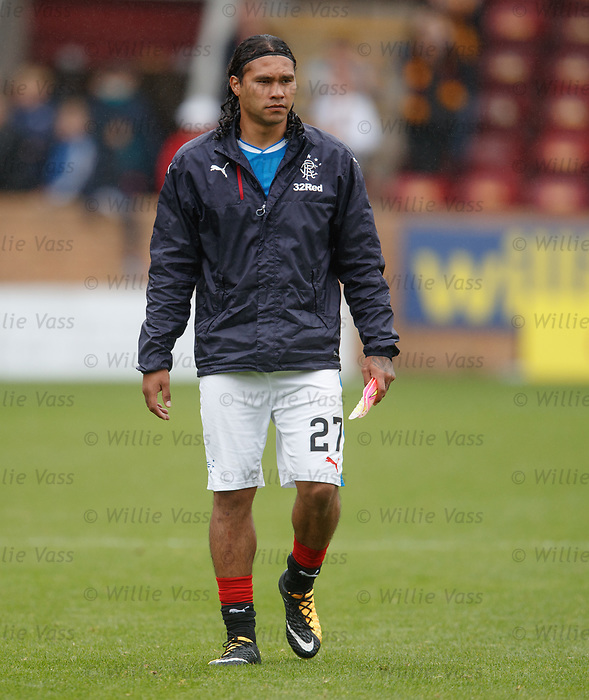 Disconsolate looking Carlos Pena at full time