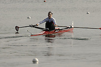 Munich, GERMANY, 2006, FISA, Rowing, World Cup, SUI LW1X, Fabiane Albrecht, held on the Olympic Regatta Course, Munich, Thurs. 25.05.2006. © Peter Spurrier/Intersport-images.com,  / Mobile +44 [0] 7973 819 551 / email images@intersport-images.com.[Mandatory Credit, Peter Spurier/ Intersport Images] Rowing Course, Olympic Regatta Rowing Course, Munich, GERMANY