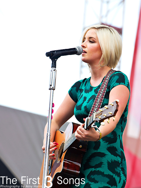 Maggie Rose performs during Day 3 of the 2013 CMA Music Festival in Nashville, Tennessee.