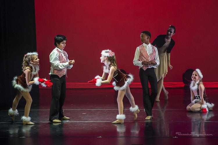 "3D Project Jazz Company, ""The Cracked Nut"", Sat. Evening Performance, 19 Dec. 2015, Cary Arts Center, Cary, North Carolina."