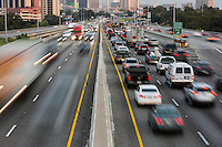 Austin's Morning Rush Hour on I-35 runs from 6 to 10 a.m. in the morning.