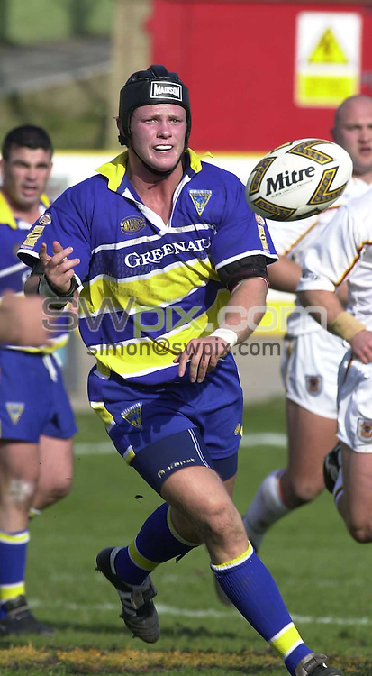 Pix: Ben Duffy...Silk Cut Challenge Cup Semi Final.Bradford Bulls v Warrington Wolves...25/03/2000.COPYWRIGHT PICTURE>>SIMON WILKINSON>>01943 436649>>..Ian Knott.