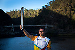 Batonbearer Daniel Geale carrying the Baton in front of the Alexandra Suspension Bridge as the Queen's Baton Relay visited Cataract Gorge in Launceston. From 25 January to 2 March 2018, the Queen's Baton will visit every other state and territory before Queensland. As the Queen's Baton Relay travels the length and breadth of Australia, it will not just pass through, but spend quality time in each community it visits, calling into hundreds of local schools and community celebrations in every state and territory. The Gold Coast 2018 Commonwealth Games (GC2018) Queen's Baton Relay is the longest and most accessible in history, travelling through the Commonwealth for 388 days and 230,000 kilometres. After spending 100 days being carried by approximately 3,800 batonbearers in Australia, the Queen's Baton journey will finish at the GC2018 Opening Ceremony on the Gold Coast on 4 April 2018.