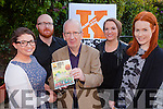 Maria O'Brien, Neil Browne, Mike Dowd, Chairman, Maria Simon and Ashling Sheehan launching the Kfest Music and Arts festival in Sol y Sombre, Killorglin on Friday night
