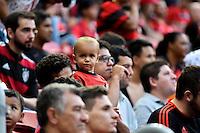 BRASÍLIA, DF, 08.02.2017 – FLAMENGO-GRÊMIO – Torcida do Flamengo antes da partida contra o Grêmio, em jogo válido pela Primeira Liga, no Estádio Nacional Mané Garrincha, na noite desta quarta-feira, 08. (Foto: Ricardo Botelho/Brazil Photo Press)