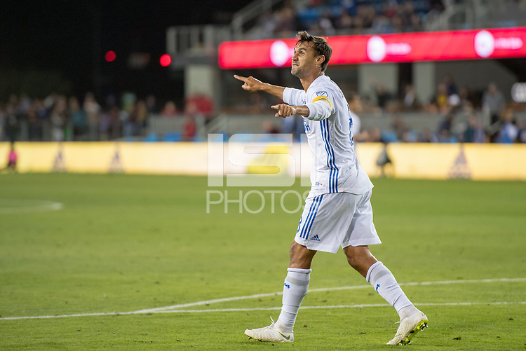 San Jose, CA - Monday January 04, 2016: Chris Wondolowski during a Major League Soccer (MLS) match between the San Jose Earthquakes and Atlanta United FC at Avaya Stadium.