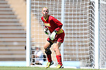 30 August 2013: Kennesaw State's Olivia Sturdivant. The Duke University Blue Devils played the Kennesaw State University Owls at Fetzer Field in Chapel Hill, NC in a 2013 NCAA Division I Women's Soccer match. Duke won 1-0.