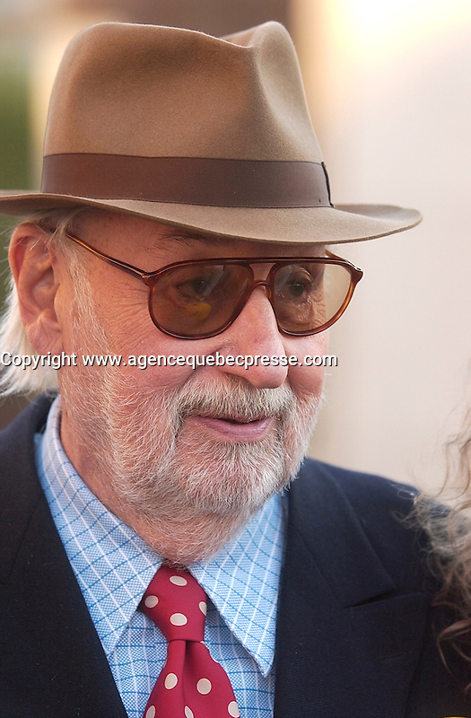sept 8,  2003, Montreal, Quebec, Canada<br /> <br /> French actor Phillipe Noiret at the Montreal Premiere of Michel Boujenah P&raquo;RE ET FILS, sept 8 2003<br /> <br /> <br /> Mandatory Credit: Photo by Sevy Images Distribution. (&copy;) Copyright 2003 by Sevy