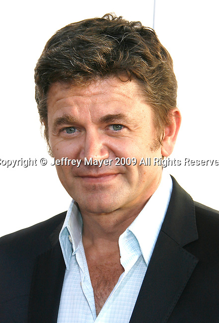 "HOLLYWOOD, CA. - July 16: John Michael Higgins arrives at the Los Angeles premiere of ""The Ugly Truth"" held at the Pacific's Cinerama Dome on July 16, 2009 in Hollywood, California."