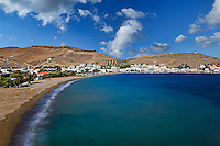 Korissia, which is a natural harbor welcomes you to the island of Kea, Greece