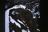 A view of the Animas River Canyon from the D&amp;SNG Cascade Canyon winter train.<br /> D&amp;S  Animas Canyon, CO
