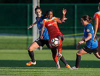 Kansas City, MO - Sunday July 02, 2017: Yael Averbuch, Nichelle Prince during a regular season National Women's Soccer League (NWSL) match between FC Kansas City and the Houston Dash at Children's Mercy Victory Field.