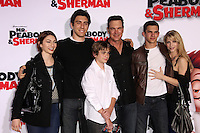 """Patrick Warburton and family<br /> at the """"Mr. Peabody and Sherman"""" Los Angeles Premiere, Village Theatre, Westwood, CA 03-05-14<br /> Dave Edwards/DailyCeleb.com 818-249-4998"""