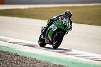 9th July 2020; Circuit de Barcelona Catalunya, Barcelona, Spain; FIM Superbike World Championship Test, Day Two; Sandro Cortese of the Outdo Kawasaki TPR Team in action with the Kawasaki ZX 10RR