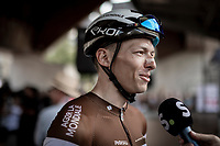 Oliver Naesen (BEL/AG2R-La Mondiale) ahead of the race start<br /> <br /> Belgian National Road Championships 2019 - Gent<br /> <br /> ©kramon