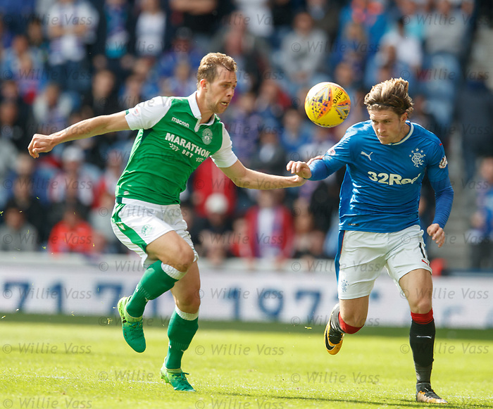 Steven Whittaker and Josh Windass