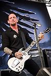 Michael Poulsen of Volbeat performs during the 2013 Rock On The Range festival at Columbus Crew Stadium in Columbus, Ohio.