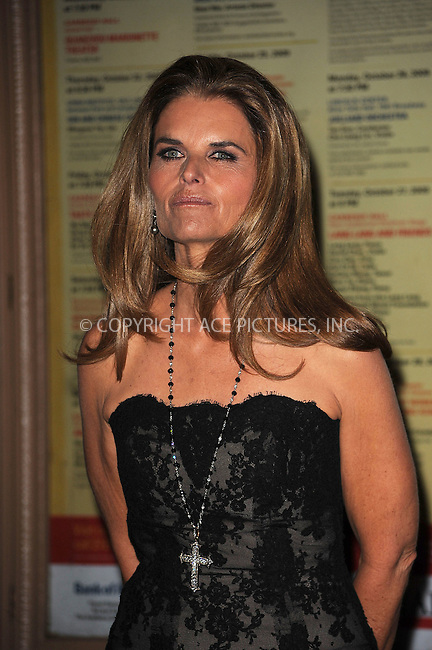 WWW.ACEPIXS.COM . . . . . ....November 9 2009, New York City....Journalist and First Lady of California, Maria Shriver arriving at the Glamour Magazine 2009 Women of The Year Honors at Carnegie Hall on November 9, 2009 in New York City.....Please byline: KRISTIN CALLAHAN - ACEPIXS.COM.. . . . . . ..Ace Pictures, Inc:  ..tel: (212) 243 8787 or (646) 769 0430..e-mail: info@acepixs.com..web: http://www.acepixs.com