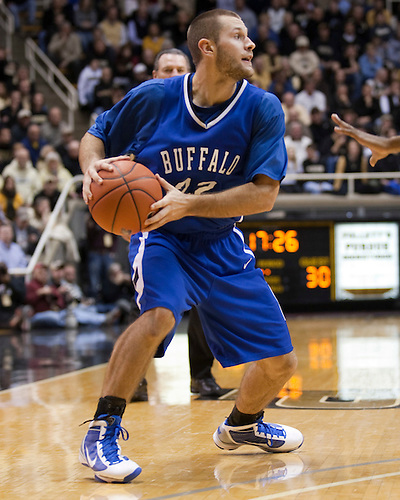 December 5, 2009: Buffalo Guard John Boyer (22) in game action between the Purdue Boilermakers and the Buffalo Bulls at Mackey Arena in West Lafayette, IN.  Purdue defeated Buffalo 101-65.