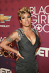 Keyshia Cole Wearing a Jovani gown Attends BLACK GIRLS ROCK! 2012 Held at The Loews Paradise Theater in the Bronx, NY   10/13/12