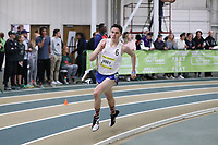 WINSTON-SALEM, NC - FEBRUARY 08: Jonah Hoey #6 won the Boys Engels 8 High School 800 Meters with a time of 1:52.86 at JDL Fast Track on February 08, 2020 in Winston-Salem, North Carolina.