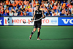 The Hague, Netherlands, June 01: Dean Couzins #8 of New Zealand looks on during the field hockey group match (Men - Group B) between the Black Sticks of New Zealand and Korea on June 1, 2014 during the World Cup 2014 at GreenFields Stadium in The Hague, Netherlands. Final score 2:1 (1:0) (Photo by Dirk Markgraf / www.265-images.com) *** Local caption ***