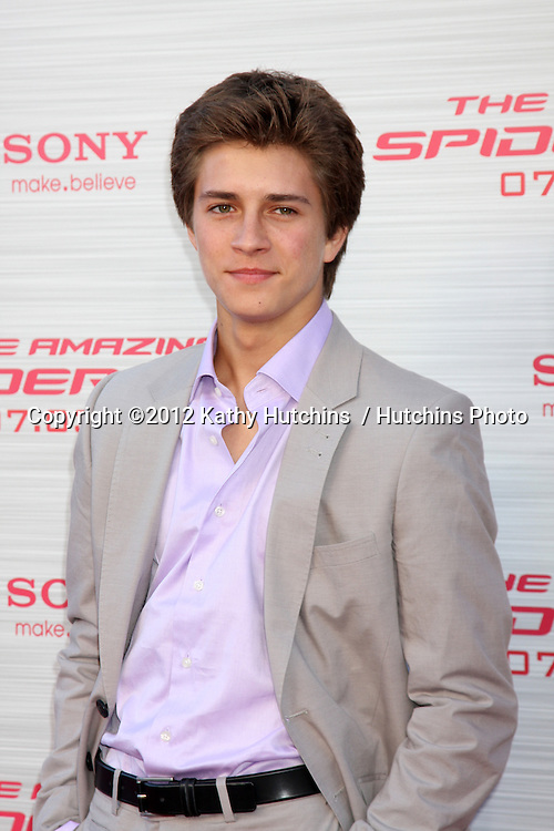 "LOS ANGELES - JUN 28:  Billy Unger arrives at the ""The Amazing Spider-Man"" Premiere at Village Theater on June 28, 2012 in Westwood, CA"