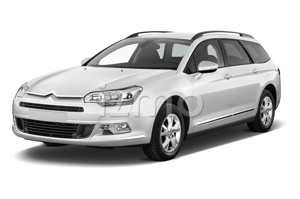 Front three quarter view of a 2010 Citroen C5 Dynamique 5 Door Wagon 2WD