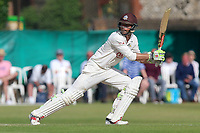 Ben Foakes hits four runs for Surrey during Surrey CCC vs Essex CCC, Specsavers County Championship Division 1 Cricket at Guildford CC, The Sports Ground on 11th June 2017