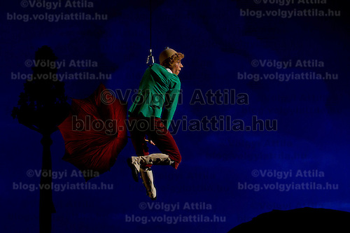 Dancer Bela Balogh performs as Thomas in the dance piece La Fille Mal Gardee or The Wayward Daughter Choreographed by Sir Frederick Ashton presented by the Hungarian National Ballet Company in Hungary State Opera House,  Budapest, Hungary, Tuesday, 23. November 2010. ATTILA VOLGYI