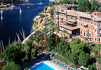 EGY, Aegypten, Assuan: das Old Cataract Hotel am Nil | EGY, Egypt, Assuan: the Old Cataract Hotel at rive Nile