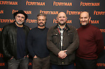 "Glenn Spears, Graham Winton, Charles Dale and Ralph Brown attends the ""The Ferryman"" cast change photo call on January 17, 2019 at the Sardi's in New York City."