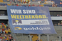 Zuschauerweltrekord im Handball - Tag des Handball, Rhein-Neckar Löwen vs. Hamburger SV, Commerzbank Arena