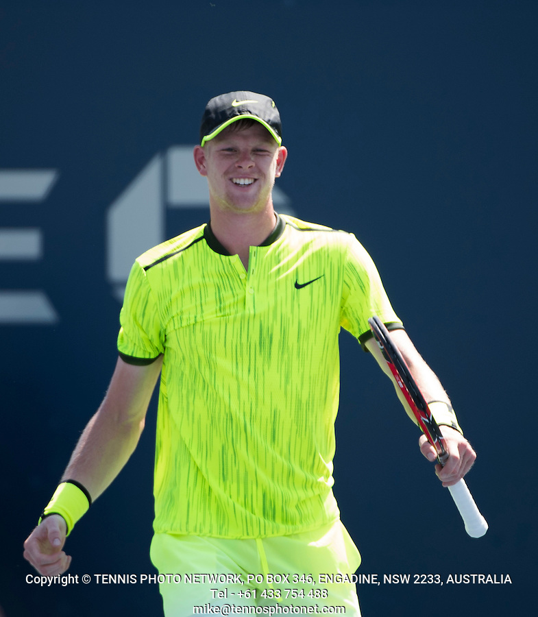 KYLE EDMUND (GBR)<br /> <br /> TENNIS - THE US OPEN - FLUSHING MEADOWS - NEW YORK - ATP - WTA - ITF - GRAND SLAM - OPEN - NEW YORK - USA - 2016  <br /> <br /> <br /> <br /> &copy; TENNIS PHOTO NETWORK