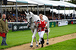 30th August 2017. Nana Dalton (GBR) riding Elite Syncopation during the First Horse Inspection of the 2017 Burghley Horse Trials, Stamford, United Kingdom. Jonathan Clarke/JPC Images